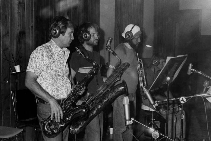 TK horns at Criteria, 1975